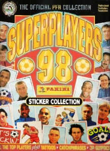 Panini SuperPlayers 1998 PFA Collection