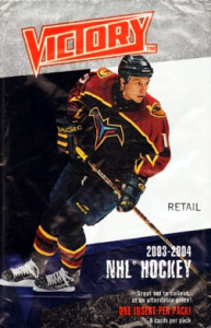 Upper Deck NHL Victory 2003-2004