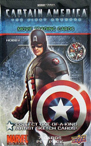 Upper Deck Captain America: The First Avenger