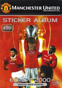 Manchester United. Europe 2000