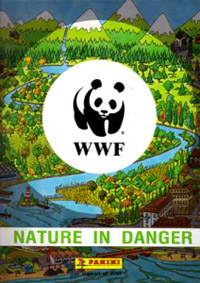 Panini WWF Nature in Danger