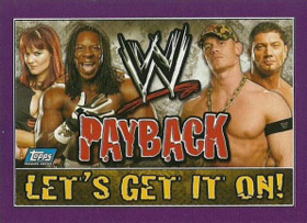 Topps WWE Payback