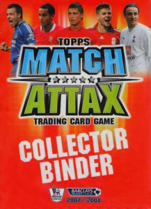 English Premier League 2007-2008. Match Attax
