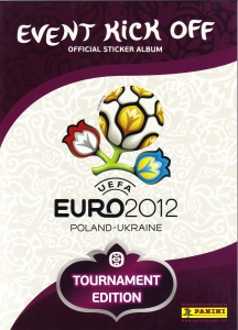 Panini UEFA Euro Poland-Ukraine 2012. Event Kick Off