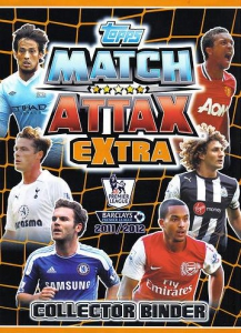 English Premier League 2011-2012. Match Attax Extra
