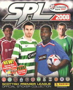Panini Scottish Premier League 2007-2008