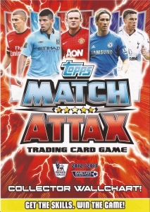 English Premier League 2012-2013. Match Attax