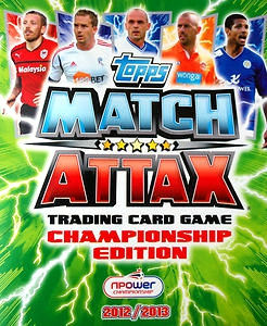 NPower Championship 2012-2013. Match Attax