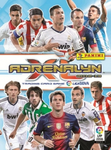 Panini Liga BBVA 2012-2013. Adrenalyn XL