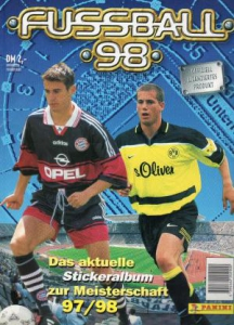 Panini German Football Bundesliga 1997-1998