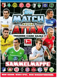 German Football Bundesliga 2012-2013. Match Attax