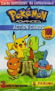 Panini Pokemon Advanced Action Cards
