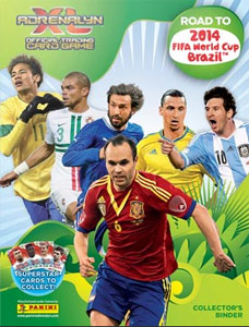 Panini Road to 2014 FIFA World Cup Brazil. Adrenalyn XL