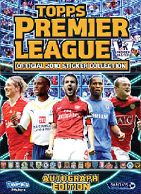 Topps Premier League Inglese 2009-2010