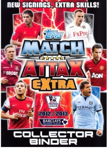 English Premier League 2012-2013. Match Attax Extra