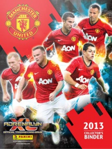 Manchester United 2012-2013. Adrenalyn XL