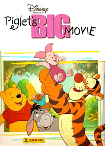 Panini Winnie the Pooh. Piglet's Big Movie