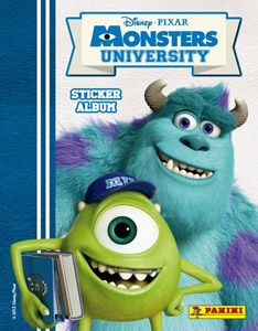 Panini Monsters University