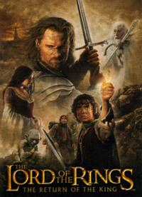 Topps The Lord of the Rings. The return of the king. Extra set