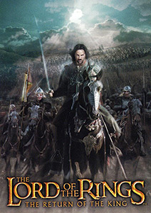 Topps The Lord of the Rings. The return of the king