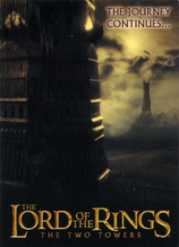 Topps The Lord of the Rings. The two towers