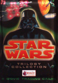 Merlin Star Wars Trilogy Collection Movie Trading Cards