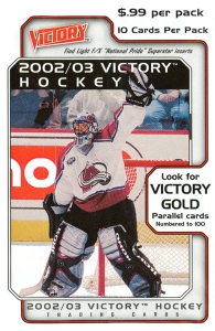 Upper Deck NHL Victory 2002-2003