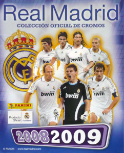 Panini Real Madrid 2008-2009