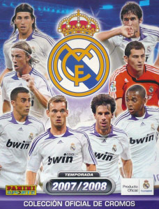 Panini Real Madrid 2007-2008