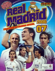 Panini Real Madrid 2006-2007