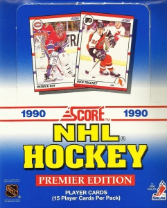 Score NHL Hockey 1990-1991