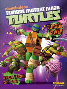 Panini Teenage Munant Ninja Turtles. Turtle Power