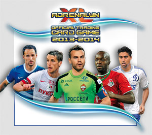 Panini Russian Football Premier League 2013-2014. Adrenalyn XL