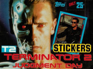 Topps Terminator 2. Judgment Day