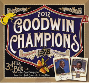 Upper Deck Goodwin Champions 2012