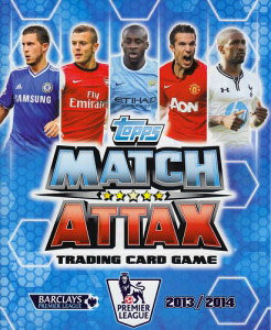 English Premier League 2013-2014. Match Attax