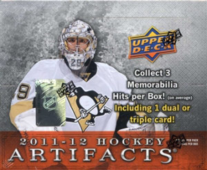 Upper Deck Artifacts 2011-2012
