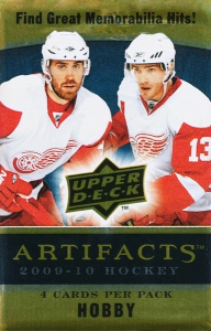 Upper Deck Artifacts 2009-2010