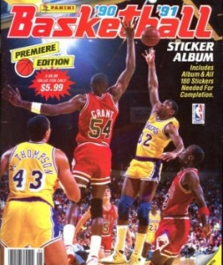 Panini NBA Basketball 1990-1991