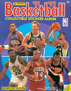 Panini NBA Basketball 1991-1992