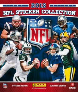 NFL Sticker Collection 2012