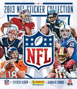 NFL Sticker Collection 2013
