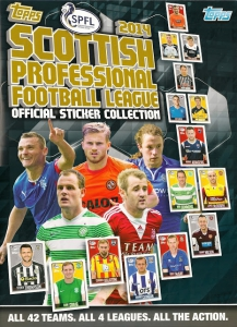 Topps Scottish Professional Football League 2013-2014