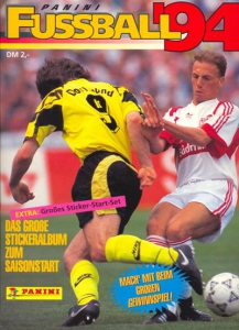 Panini German Football Bundesliga 1993-1994