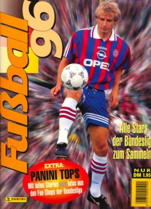 Panini German Football Bundesliga 1995-1996