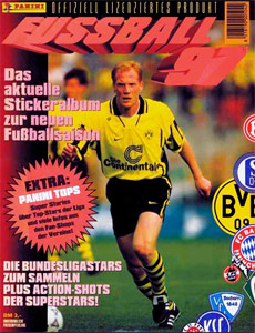 Panini German Football Bundesliga 1996-1997