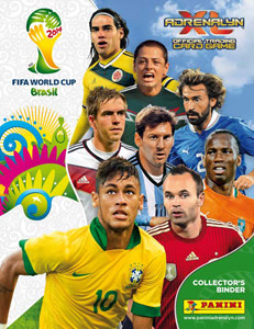 Panini FIFA World Cup Brazil 2014. Adrenalyn XL
