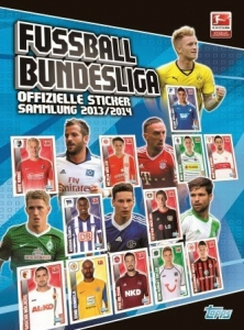 Topps German Football Bundesliga 2013-2014