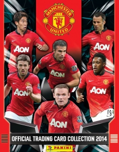 Manchester United 2013-2014. Trading Cards