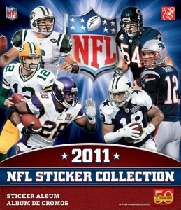 NFL Sticker Collection 2011